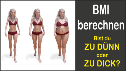 BMI (Body-Mass-Index) berechnen
