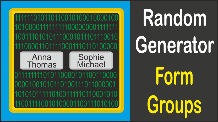 Random Generator Form Groups